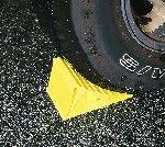 Chock Wheel Yellow 44412 450-00210